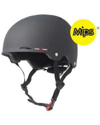 Triple-Eight-Gotham-MIPS-Black-Rubber-Helmet